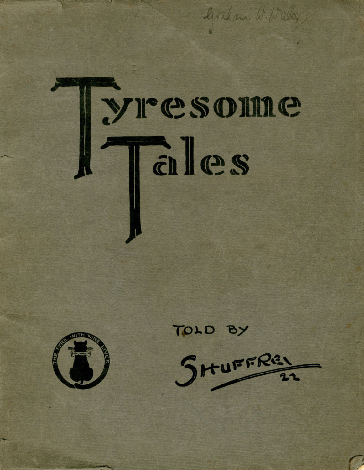 Tyresome tales front cover