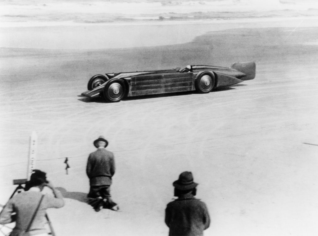 Golden Arrow at Daytona, 1929