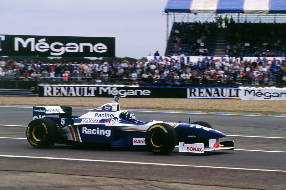 Damon Hill, Williams-Renault FW18, 1996, British GP