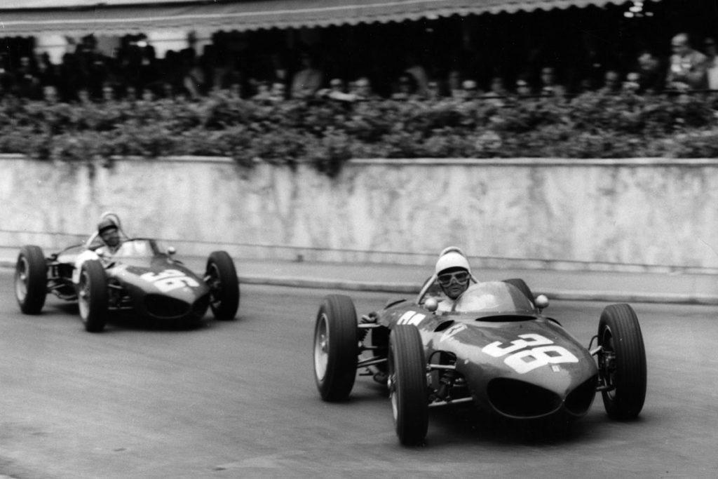 Ferrari 156s at the Monaco Grand Prix, 1961