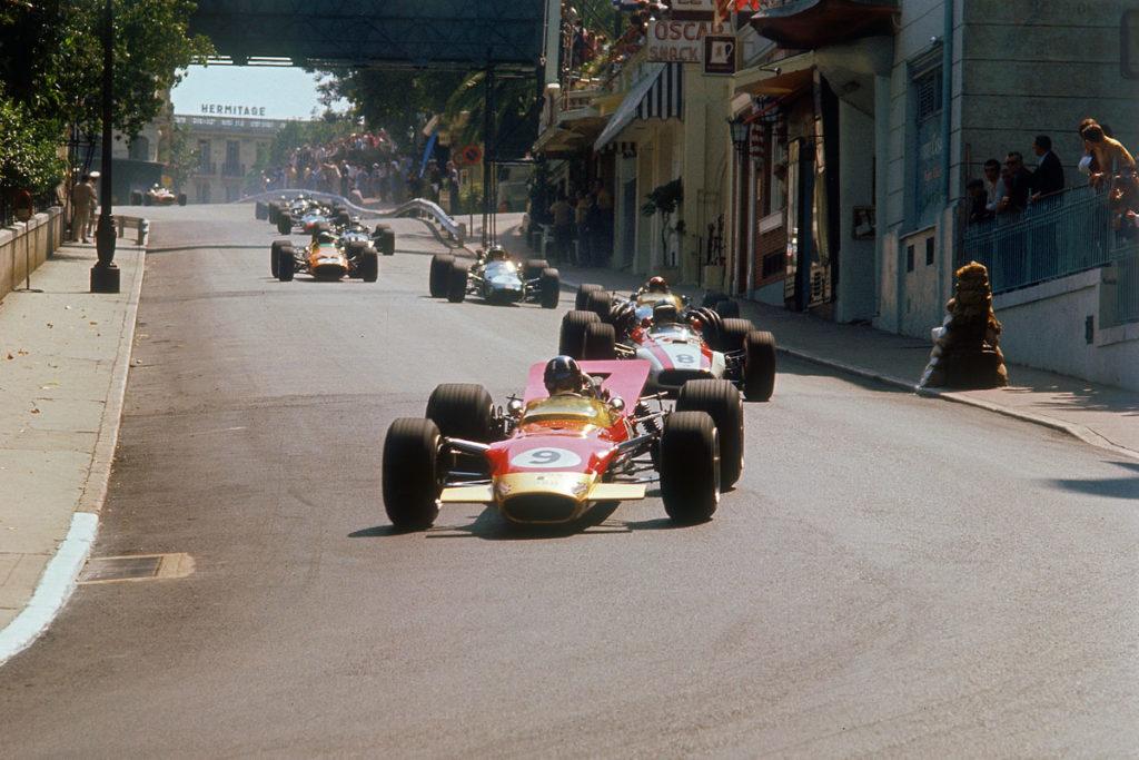 Graham Hill, Monaco Grand Prix, 1968
