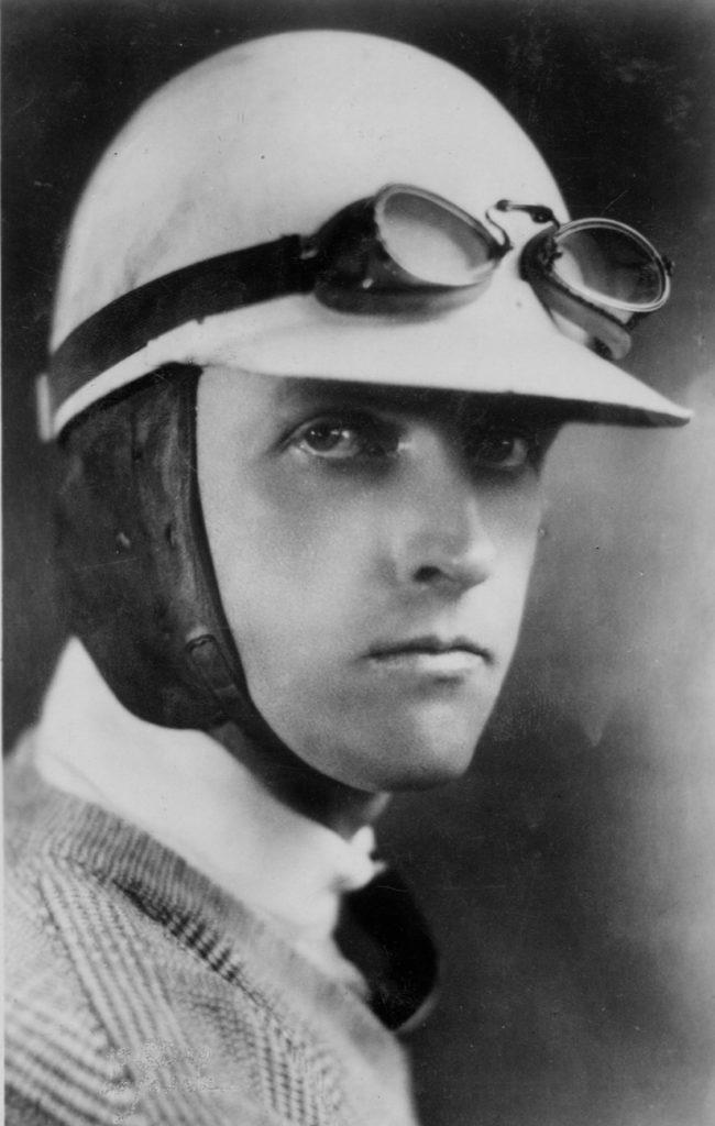 Henry Segrave photograph portrait