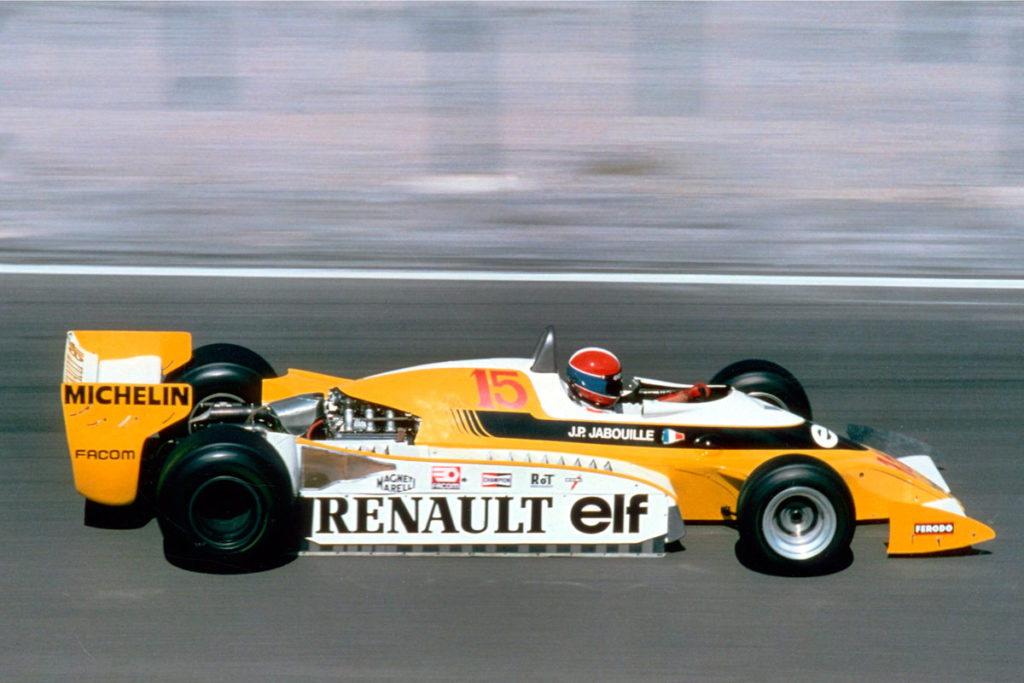 Jean-Pierre Jabouille, Renault RS01, 1979