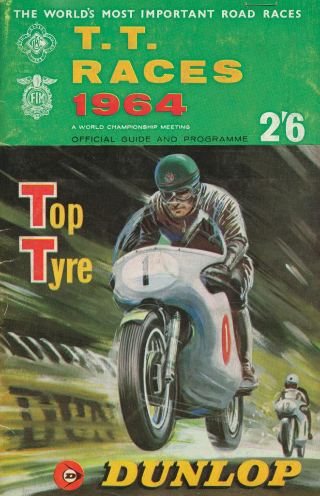 IOM TT Race Programme from 1964