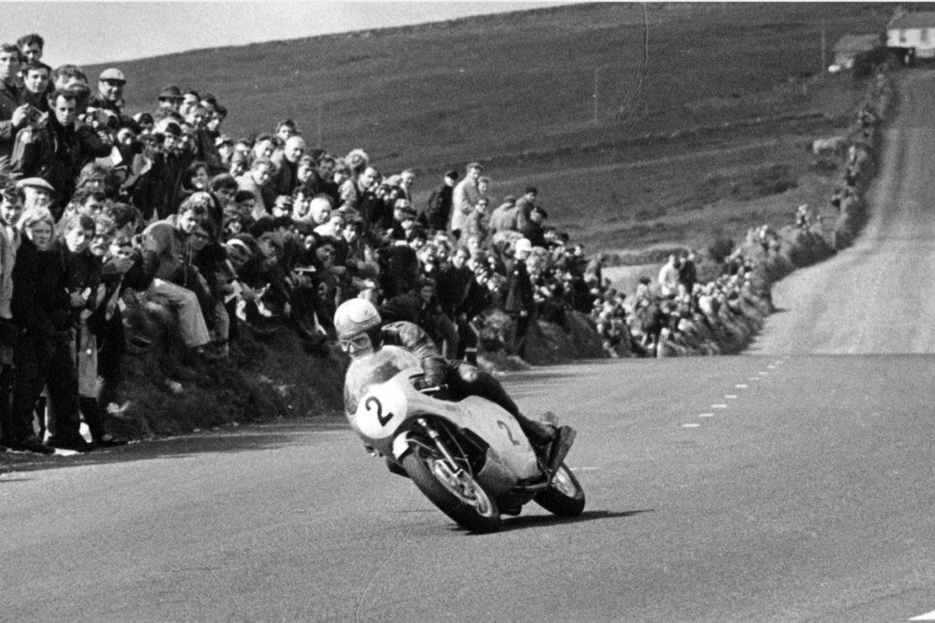 Mike Hailwood IOM TT 1966