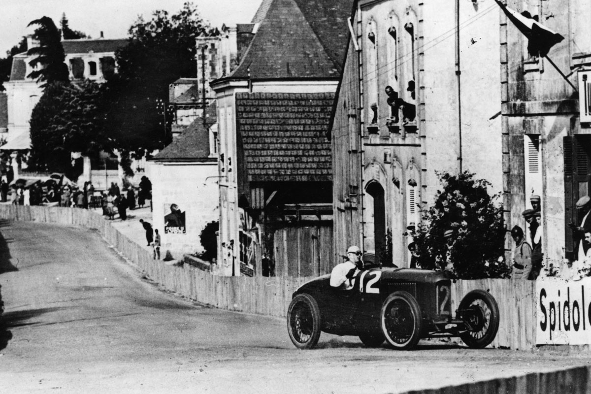 Segrave in Sunbeam at the 1923 French GP