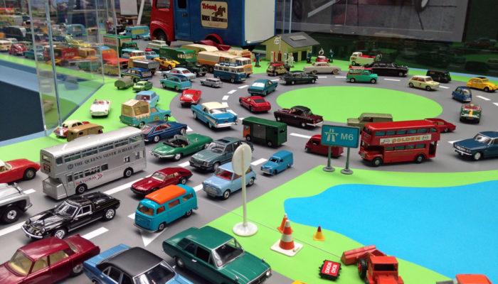Motoring in Miniature display in the Museum
