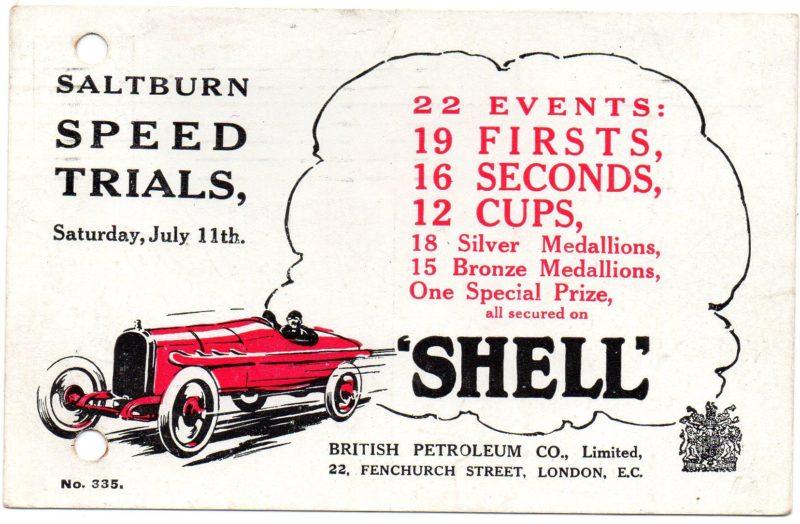 Shell postcard, 1914