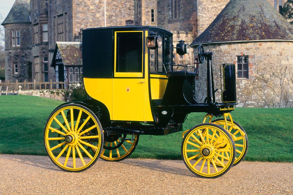 Bersey Electric cab 1897