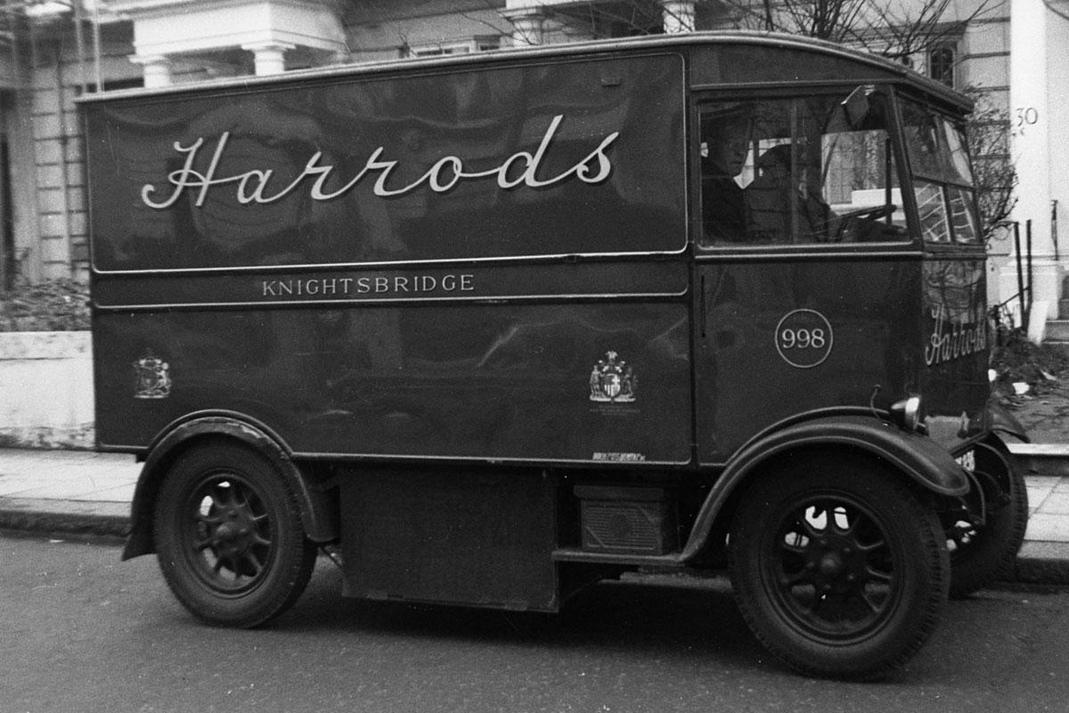 Harrods electric van, 1939