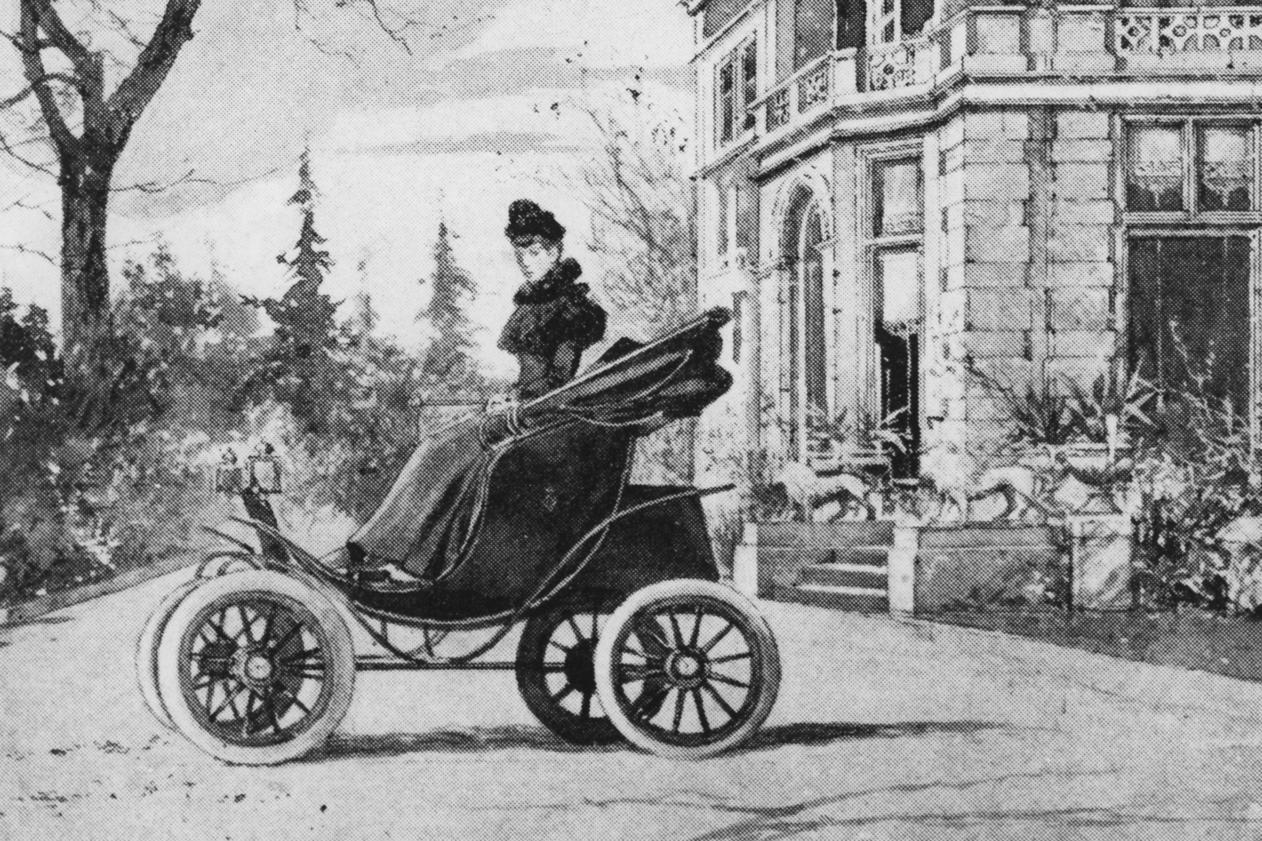 Queen Alexandra in the Columbia Electric