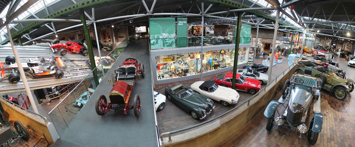 National Motor Museum panorama