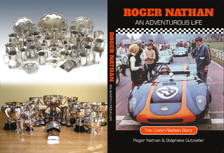 Cover of Roger Nathan An Adventurous life book